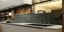 LED Licht Als Beleuchtung In Moderner Küche