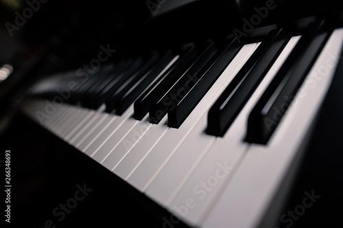 keys on piano keyboard soundclassical grand harmony composer