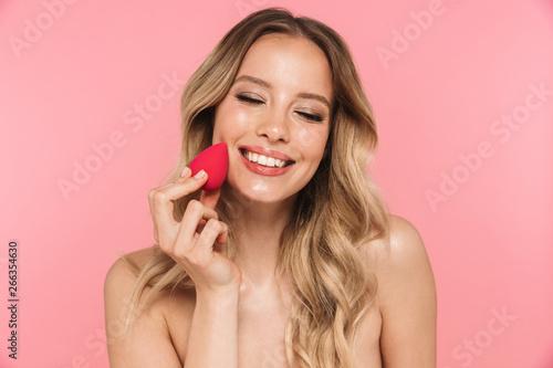 Obraz Beauty portrait of a lovely young woman - fototapety do salonu