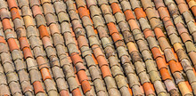 Old Roof Tiles Backdrop