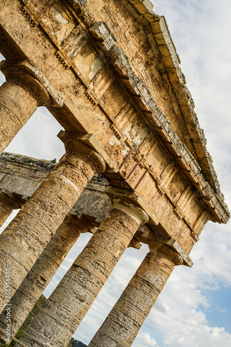 Fotografie, Obraz Römischer Tempel Segesta Sizilien