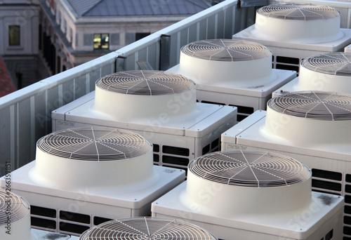 Fototapety, obrazy: climatiseurs