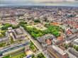Königsplatz München Luftbild HDR