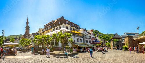 Obraz Altstadt von Cochem, Mosel, Deutschland  - fototapety do salonu