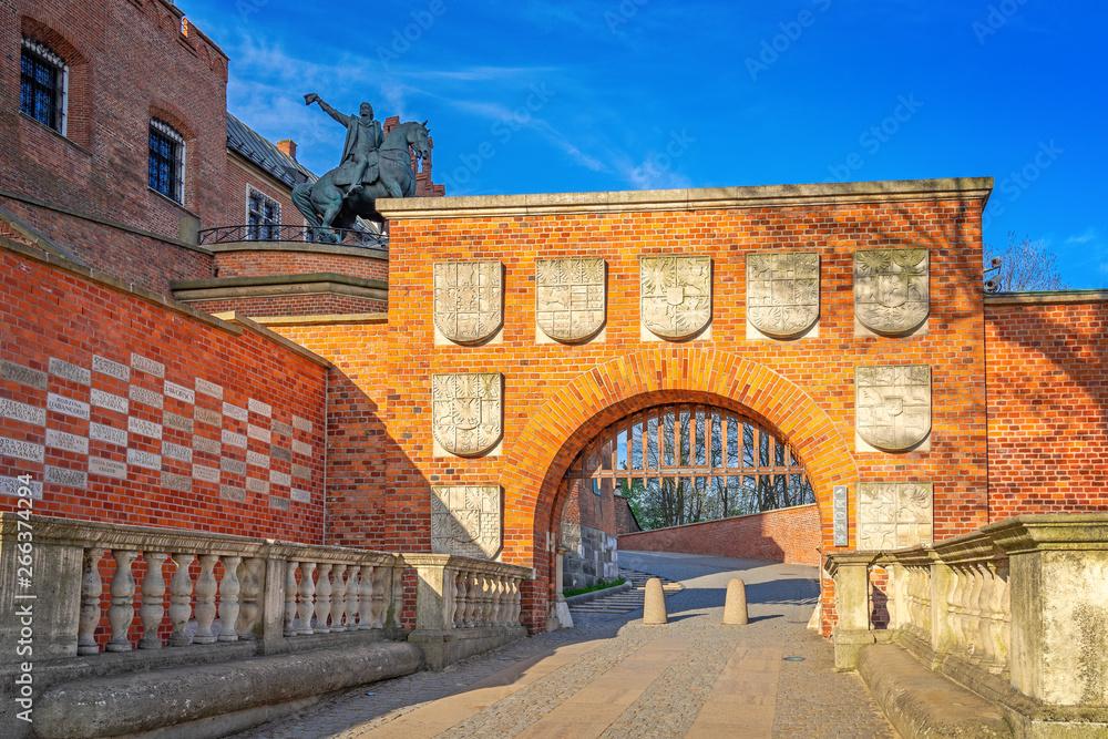 Fototapety, obrazy: Zamek Wawelski, miasto Kraków, Polska
