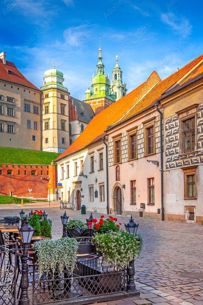 Fototapety, obrazy: Malownicza uliczka w Krakowie