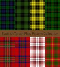 Collection Of Scottish Tartan ...