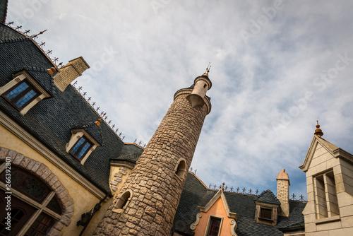 Fotografie, Obraz  Detalle de castillo