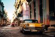 Old car in the street of Havana