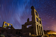 Rhyolite Star Trails