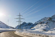 Power Transmission Lines In Th...