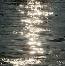 Sparkles On Ocean Water