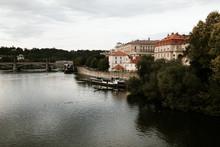 Prague Riverfront Views