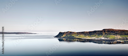 Spoed Foto op Canvas Stad aan het water A remote coastal village, Scotland, UK