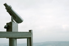 Binoculars On The Viewpoint