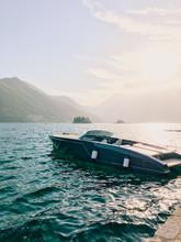 Luxury Yacht In A Bay