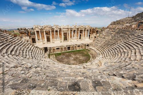 Canvastavla Hierapolis ancient city Pamukkale Turkey