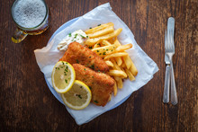 Beer Fish And Chips