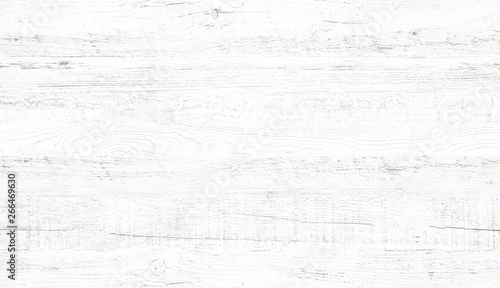 White wood pattern and texture for background. Close-up. - 266469630