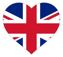 Flag In Heart Vector Illustrat...