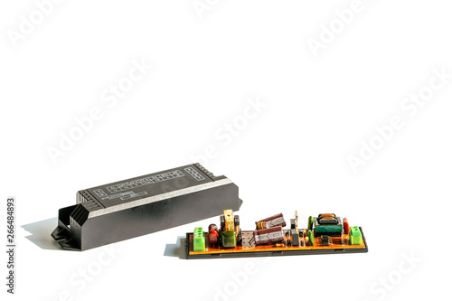 Electrical ballast is a device with limit the amount of current in an electrical circuit Wallpaper Mural