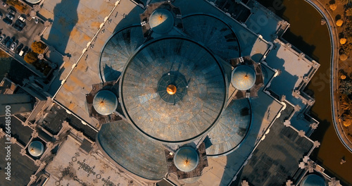 Photo  Aerial view of the Federal Territory Mosque, also known as Masjid Wilayah Persek