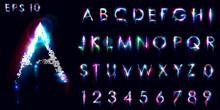 Crumbling And Luminous Font, E...