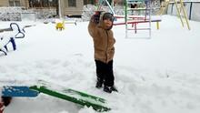 4k Footage Of Toddler Boy Walk...
