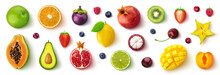 Assortment Of Different Fruits...