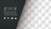 Business Paper Template - Textile Background.