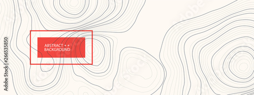 Fotografija Vector landscape geodesy topography map background