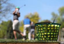 A Jumbo Bucket Of Golf Balls S...