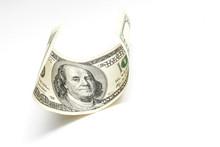 Single Hundred Dollar Bill Cur...