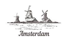 Amsterdam Sketch, Zanse Schans...