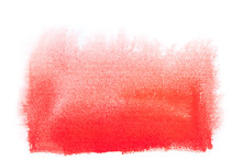 Spray Red Paint Texture, Overf...
