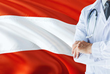 Austrian Doctor Standing With ...