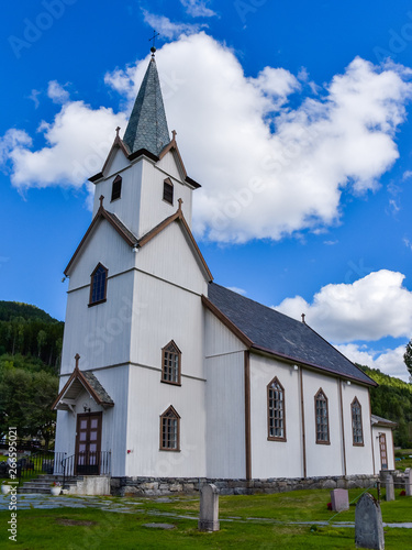 Torpo Church in Torpo, a small village in Ål municipality, in Buskerud County, Norway