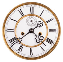 Victorian Clock Face With Roma...