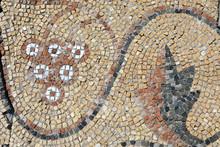 Details Of Antique Floor Mosaic