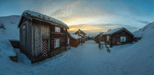 Amazing Mining Town In Winter ...