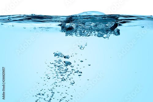 Fotografie, Obraz  Air Bubbles. Healthy Fresh Water
