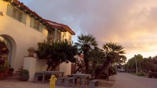 Old Town San Diego State Park At Sunset - SAN DIEGO, UNITED STATES OF AMERICA - APRIL 1, 2019