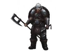 Fantasy Norse Viking. Warrior Character Design. Realistic Illustration. Video Game Digital CG Artwork.