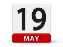 Cubes Calendar 19th May