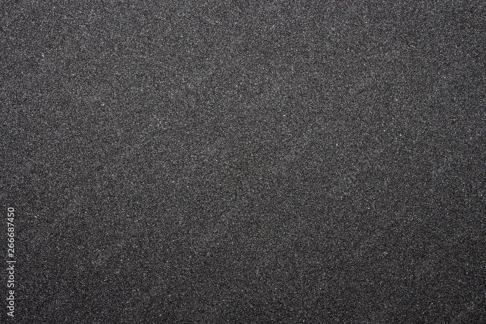 Fototapeta Black sandpaper texture.