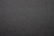 canvas print picture - Black sandpaper texture.