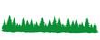 Grüner Wald Panorama