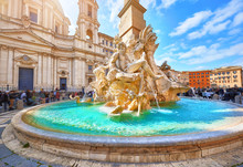 Rome, Italy. Fountain Of The F...