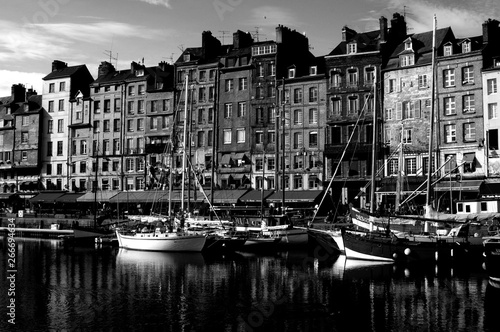 Photo  Honfleur, Normandy city in France