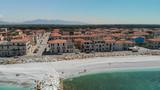 Panoramic aerial view of Marina di Pisa, Italy - 266700208